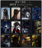 2015 Art Summary by ev-oo