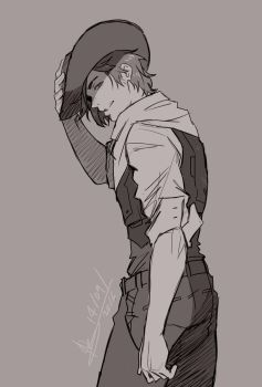 Overwatch - Young Mccree 1 by ABD-illustrates