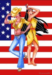 Two babes from the USA by Larocka84