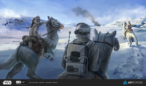 Attack on Hoth by apeldille