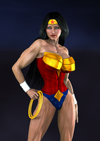 Wonder Woman by prizm1616