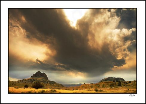 New Mexican Clouds by kimjew