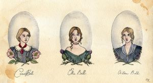 The Bronte Sisters by Kitty-Grimm