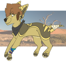 Desert Dog [CLOSED] by fl0werprince