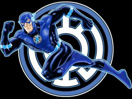 Blue Lantern Flash Variant by Thuddleston