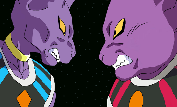 Bills and Champa Drawing by CatCamellia