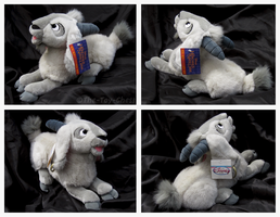 Disney Store - Lying Djali Goat Plush by The-Toy-Chest