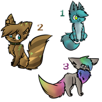 Adoptables by ShatteredMadness