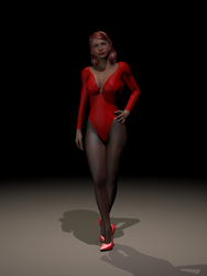 Genesis in Poser by skg72