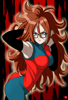 [ Dragon Ball FighterZ ] Android 21 by chris-re5