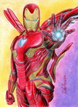 Iron Man (MCU - Infinity War) by danielcamilo
