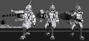 SPECTRE Heavy Foot Soldier by XenoAisam