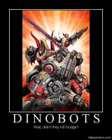 Transformers Fall of Cybertron Dinobots by Onikage108