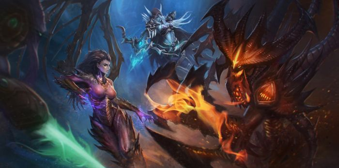 Heroes of the Storm by chaosringen
