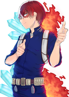 Todoroki Shouto~ by BananaConductor