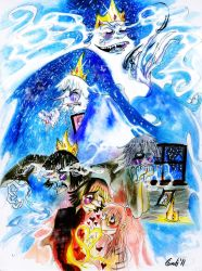 Ice King: The Biggest Weirdo in Ooo. by CountANDRA