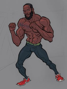 Jon Jones by Scadilla