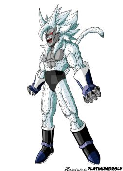 Turles: The Super Saiya-jin Devil by PLATINUMBROLY by TheOneKingLeek