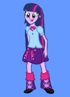 Equestria Girl: Twilight Sparkle by Bronytwin02