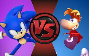 CFC|Game Sonic vs. Rayman by Vex2001