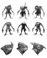 Frog Assassins by NickDeSpain