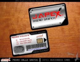JAPEX Business Cards by vallesan