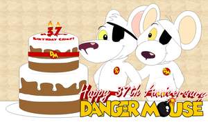 37 Years of Danger Mouse by AshleyWolf259