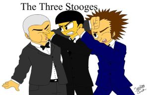 The Three Stooges by ShadowXConspiracy