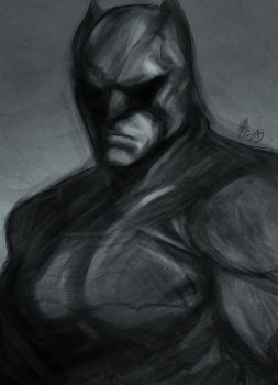 Batman by DarroldHansen