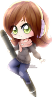 .: Chibi commission WWK :. by Meshion