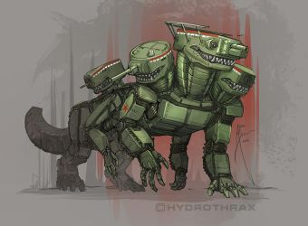 Five-Headed Menace by Hydrothrax