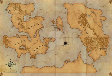Realm Map -- Revised by MusingStar