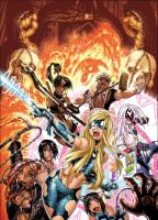 EMPOWERED vol. 6 cover colors by AdamWarren