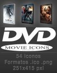 DVD Movie Icons by muchografico