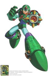 MEGAMAN X RX ARMOR OFFICIAL ARTWORK by donaldrockman