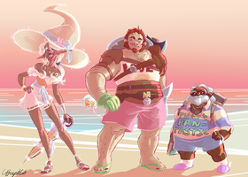 Beach Boyz by Enigmar