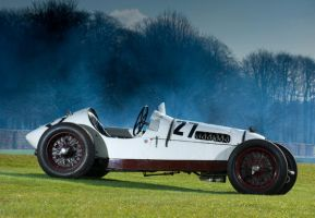 classic vintage F1 car by adamduckworth