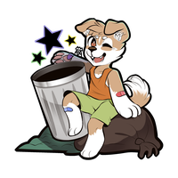 AT: - King Of Trash - by The-Star-Hunter