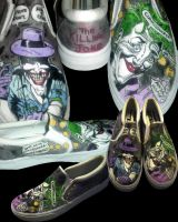 Killing Joke Joker Shoes by LaurenWiles