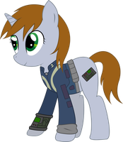 Littlepip by Candy-Muffin