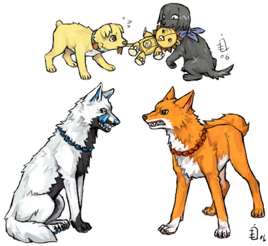 Bleach Doggies 12 by emlan