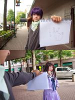 Yato Shows Hiyori Milord [Noragami Cosplay] by firecloak