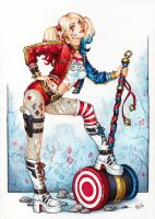 Harley Quinn by Candra