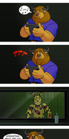 FNAF 3 Comic - Trick-or-Treat by RetroUniverseArt