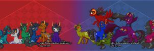 Homestuck Ponies by TCStarwind