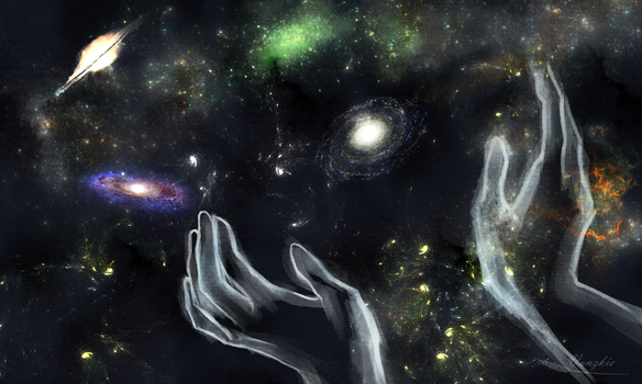 Universe By God's Hands by Vanzkie