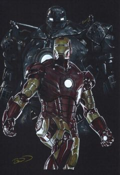 Iron Man - He's Behind You by J-Redd