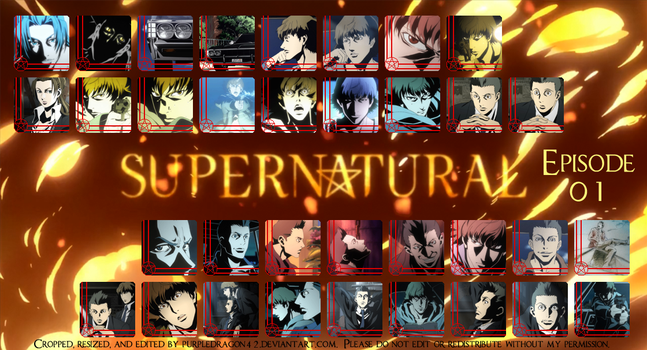 Supernatural Avatar Collection - Episode 01 by purpledragon42