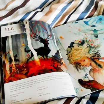 THREADS artbook! by yamixhikari