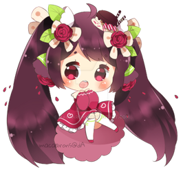 Hua!! (Chibi commission) by macaarons